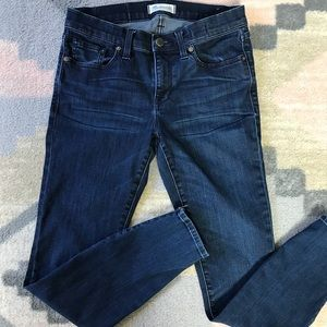 Madewell Skinny Skinny Ankle Zip Jeans